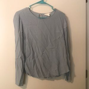 Light blue top from h&m
